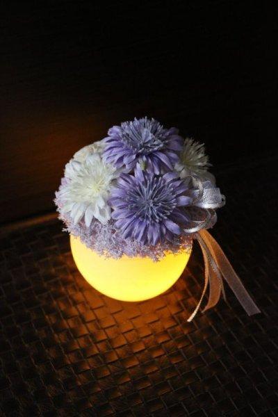 画像1: 送料無料【灯る仏花】香花