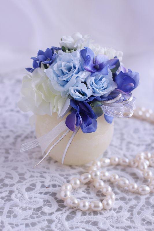 画像1: 【灯る仏花】おもかげ (1)